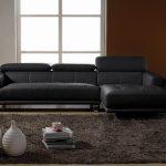 Canapé celine droit noir
