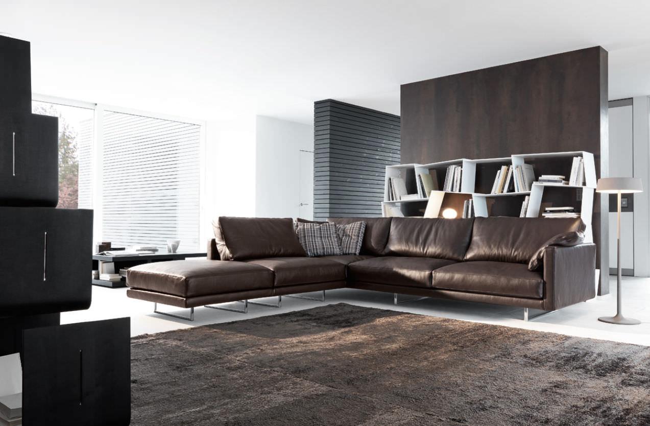Stunning Sofa Moderne Marron Gris Images - House Design ...