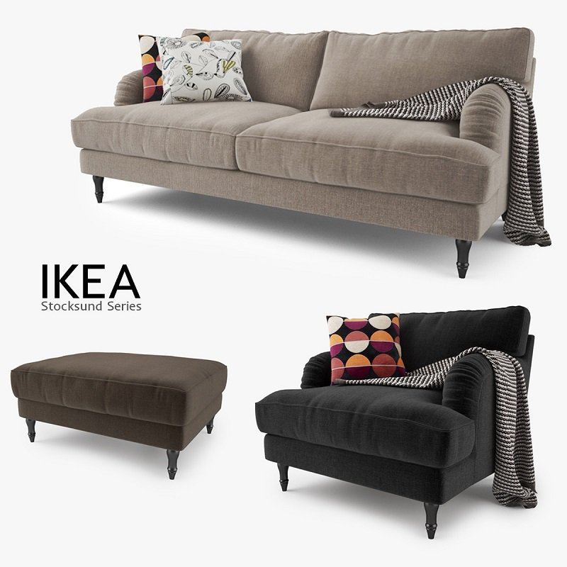 Ikea Canapé Stocksund Series