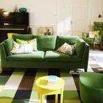 canape salon stockholm vert