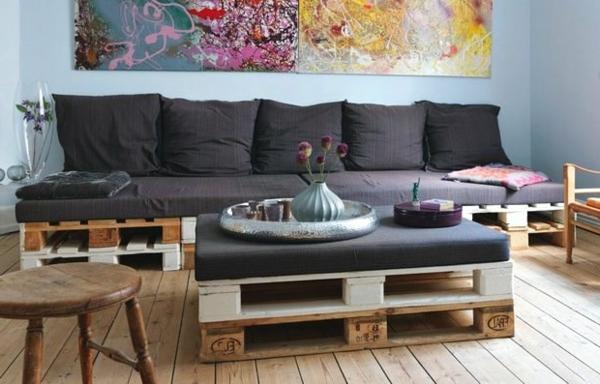 Canap palette guide d 39 achat le must en t - Canape palette bois ...