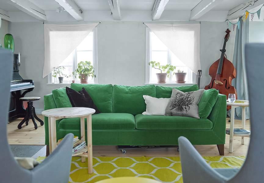 Test et avis utilisateurs sur le canap stockholm de ikea for Ikea canape vert