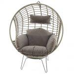 fauteuil oeuf de jardin ou terrasse