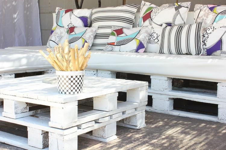 Canapé Palette : Guide d\'achat - Le must en été