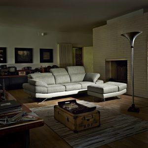 Baricella canapé salon avec pouf