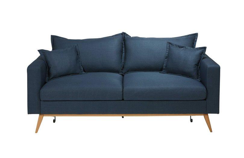 test avis du canap convertible duke de maisons du monde. Black Bedroom Furniture Sets. Home Design Ideas