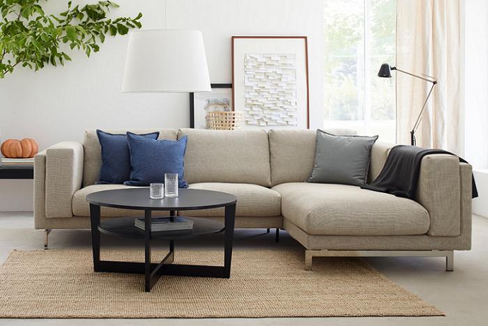 canapé d'angle NOCKEBY IKEA