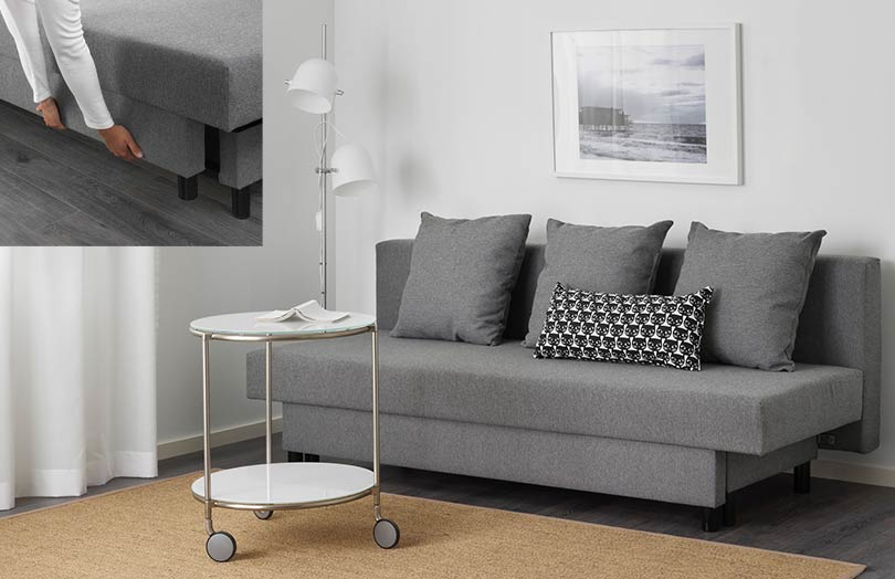 canapé modulable ASARUM de IKEA