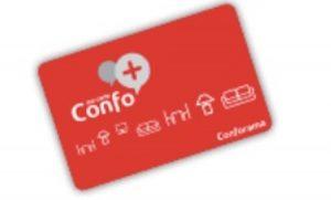 Carte Confo+