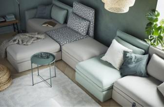 Test & avis du canapé modulable convertible Ikea VALLENTUNA