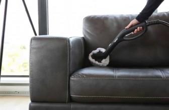 Comment nettoyer les canapés en cuir ?