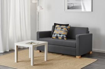Test et Avis du canapé convertible SOLSTA de chez IKEA